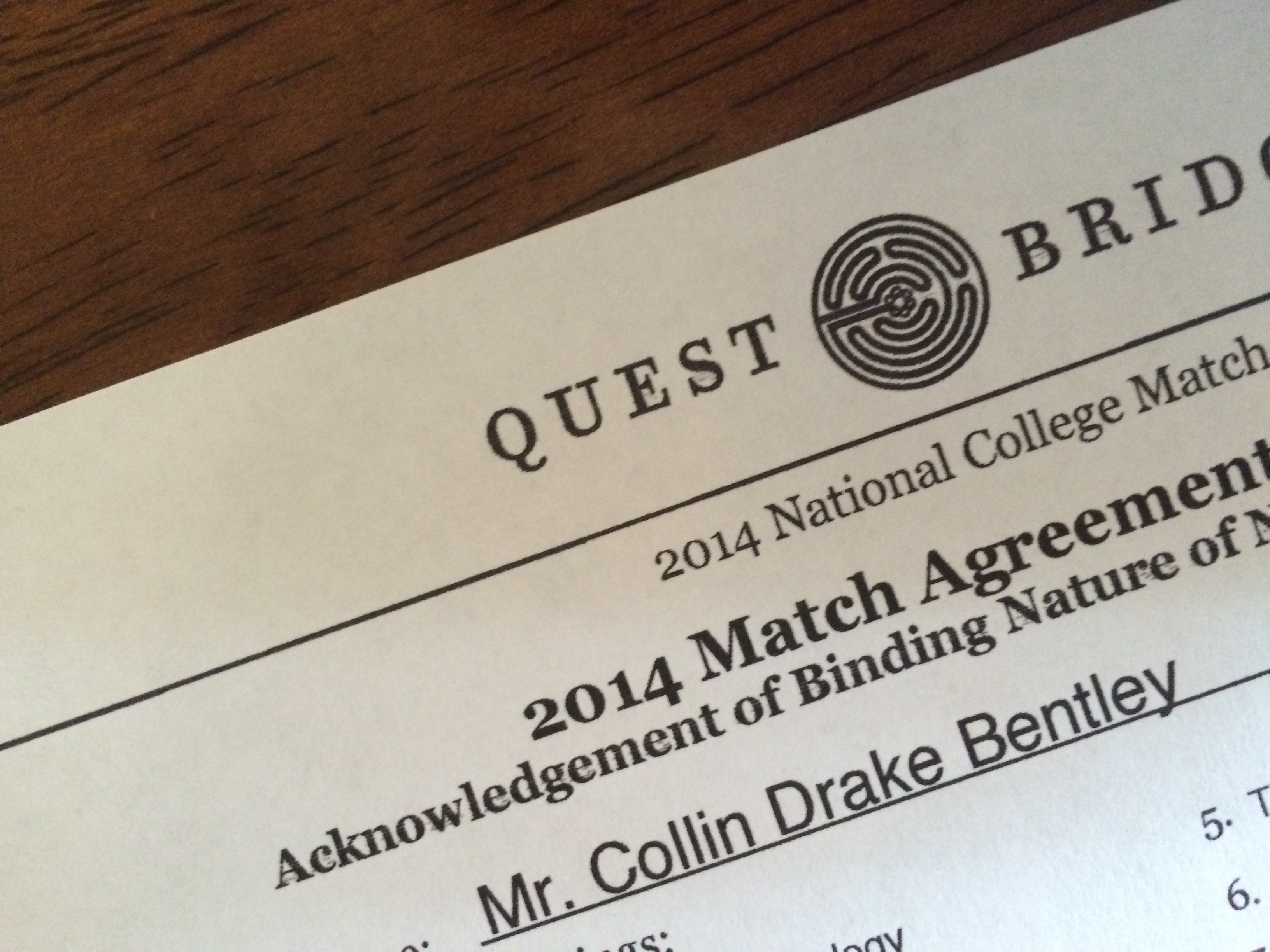 questbridge national college match essay prompts