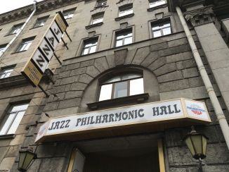 The Jazz Philharmonic Hall in Saint Petersburg, Russia